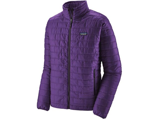 Patagonia Nano Puff Giacca Uomo, purple